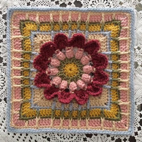 Rachel Block - Free Crochet Pattern