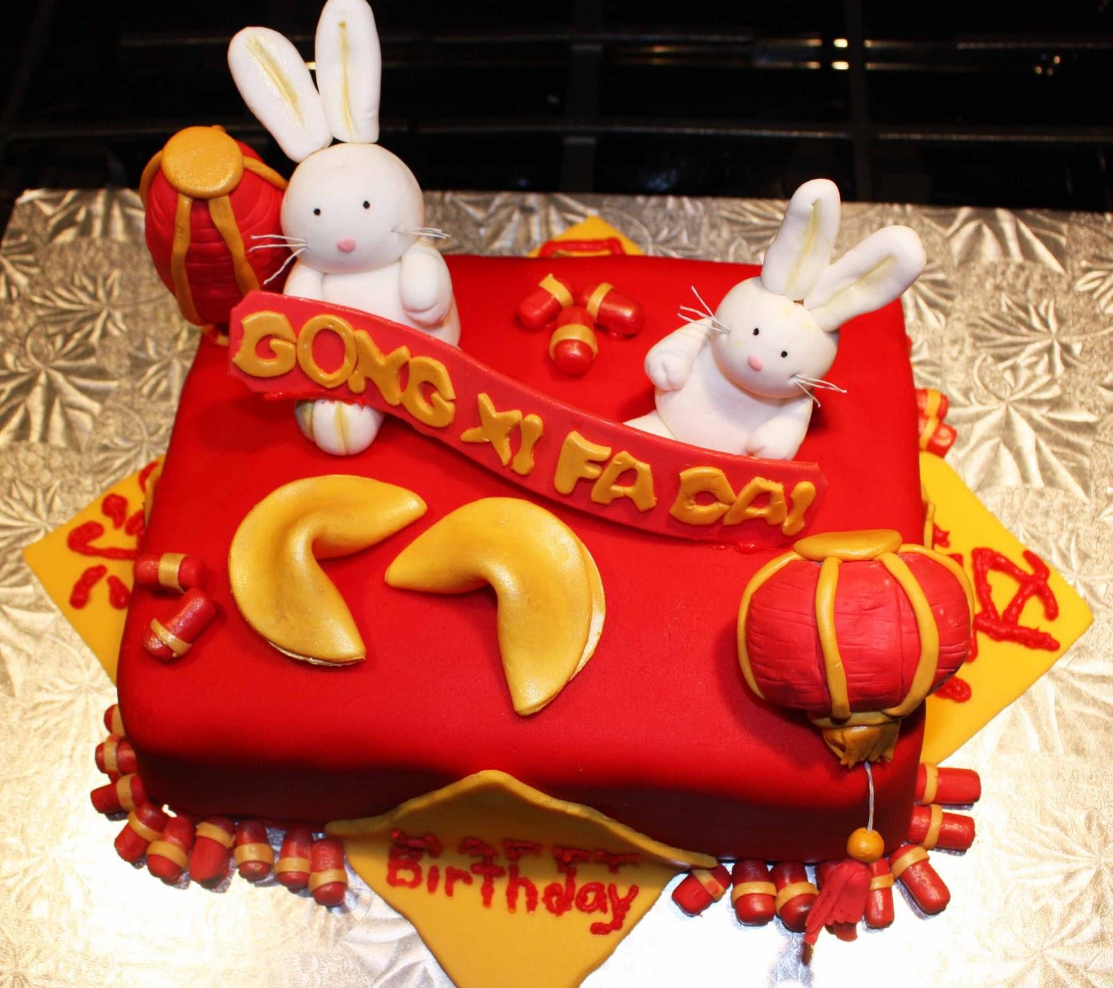 Happy Chinese New Year Cake