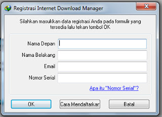 Serial Number IDM Terbaru