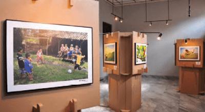 Contoh Panil Perlengkapan Pameran Karya Seni Rupa