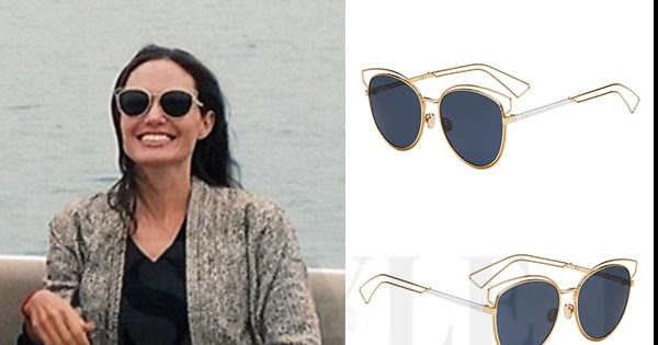 c572973ea2 Angelina Jolie in round Dior Sideral sunglasses in Vietnam on December 23 ~  I want her style - What celebrities wore and where to buy it. Celebrity  Style