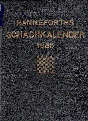 Calendario alemán de ajedrez de 1935