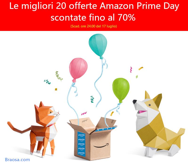 Le 20 migliori offerte Amazon Prtime Day cher scadono tra circa 36 ore