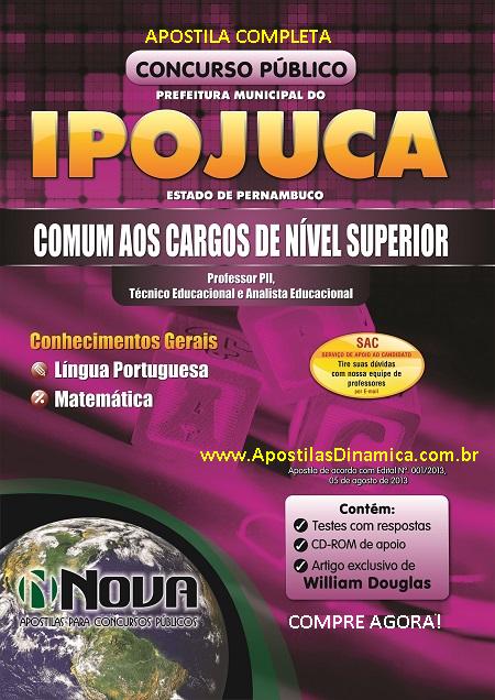 Apostila Concurso Município do Ipojuca-PE