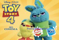Logo Vinci con Babybel -Toy Story 4: vinci fantastici premi e viaggio a Walt Disney World Resort! anticipazione