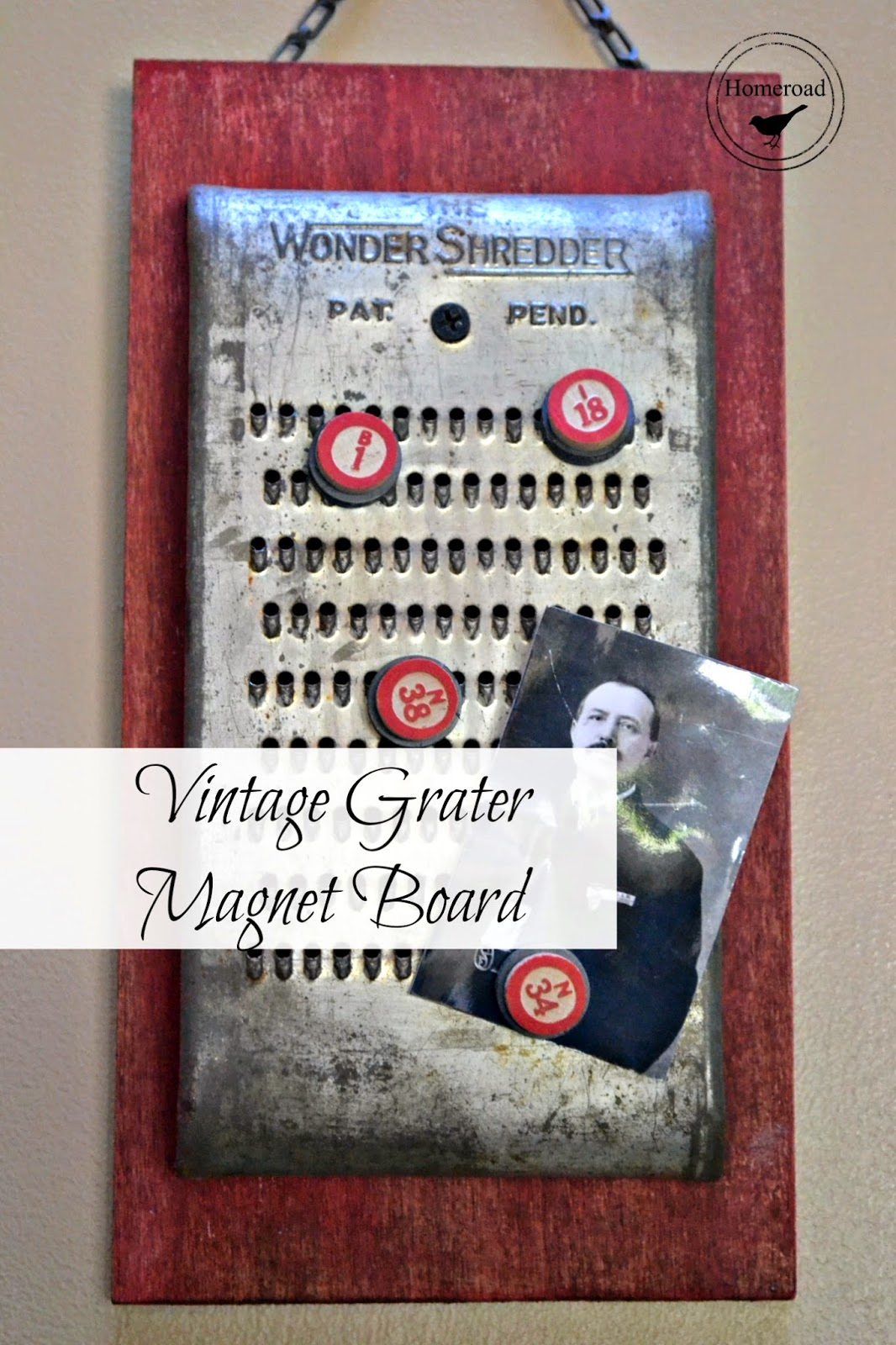 vintage-cheese-grater-magnet-board www.homeroad.net