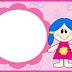 Muñecas: Invitaciones para Imprimir Gratis.