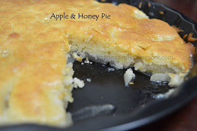 Apple & Honey Pie