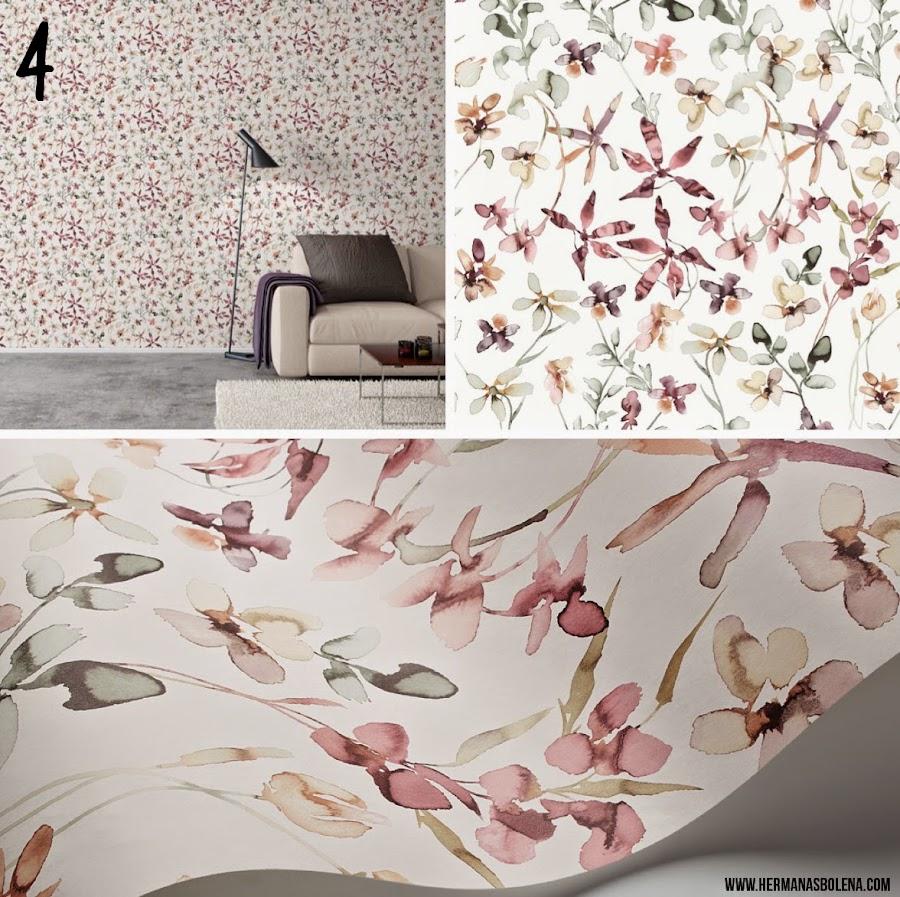 papel pintado decoración salón dormitorio