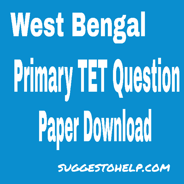 Question primary pdf tet