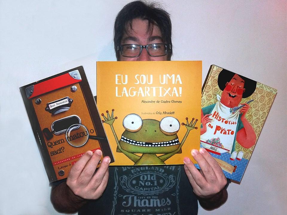 """86c8eb307 Lançada no último dia 26 de junho no Rio de Janeiro – RJ, """"Eu Sou Uma  Lagartixa!"""" é a mais recente publicação infantil do autor carioca Alexandre  de Castro ..."""