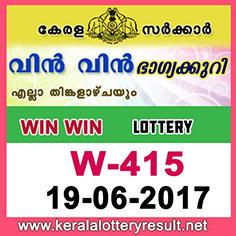 keralalotteries, kerala lottery, keralalotteryresult, kerala lottery result, kerala lottery result live, kerala lottery results,   kerala lottery today, kerala lottery result today, kerala lottery results today, today kerala lottery result, kerala lottery   result 19.6.2017 Win win Lottery W-415, Win win Lottery , Win win Lottery  today result, Win win Lottery  result   yesterday, win win Lottery w-415, win win Lottery 19.6.2017, 19-6-2017 kerala result