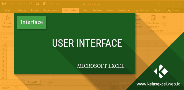 User Interface Microsoft Excel