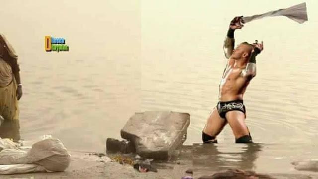 WWE च्या कलाकारांनी साजरी केली दिवाळी !!