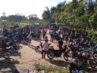 Para Rider King di Lombok Tengah Gelar Silaturrahim Club Sepulau Lombok