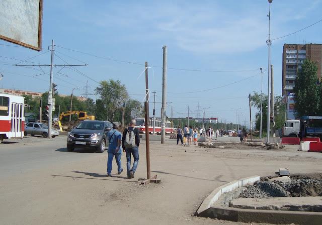 Перекресток Московского шоссе с ул. Ташкентской