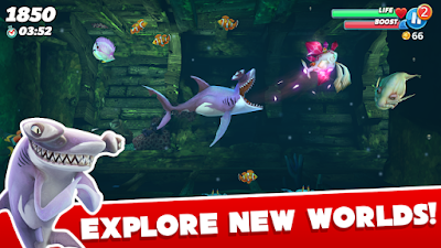 Hungry Shark World MOD APK (MOD Unlimited Gems)
