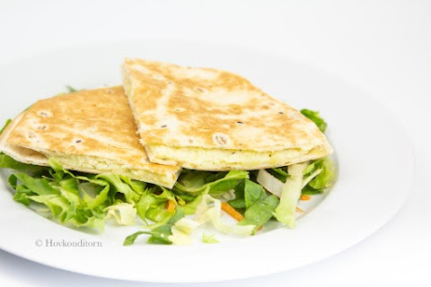 Potato & Cheese Quesadilla