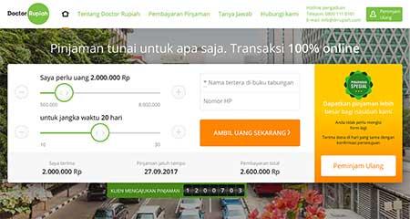 Cara Menghubungi Doctor Rupiah Pinjaman Online