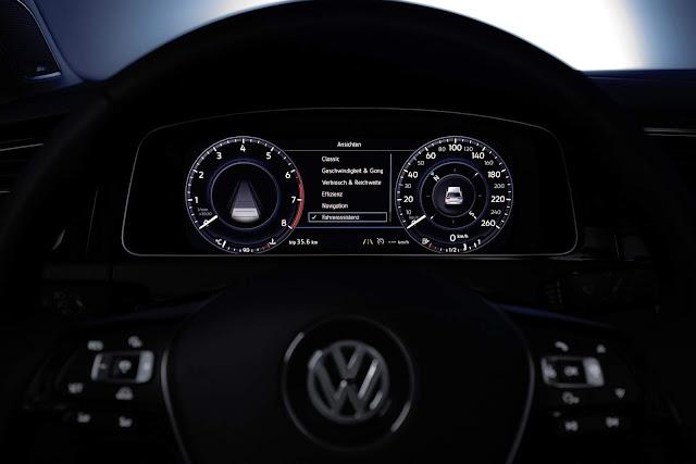 Volkswagen Golf 2017 - painel digital Active Display
