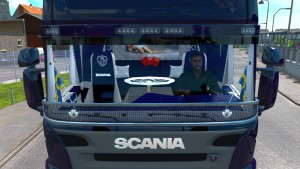 Malcom37 interiors for Scania RS and T by RJL