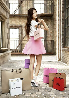 Kim Sae Ron Seo Kang Joon Blue Mountain Spring Summer 2016