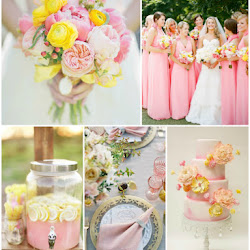 Shades of Pink and Gold Sleeping Beauty Themed Wedding | A Hue For Two
