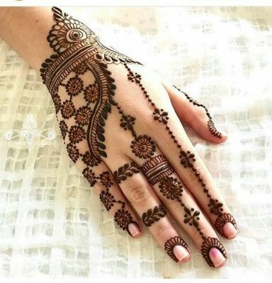 40 Latest Mehndi Designs To Try In 2019 Bling Sparkle