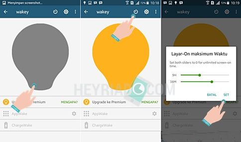 Cara Agar Layar Android Tetap Menyala