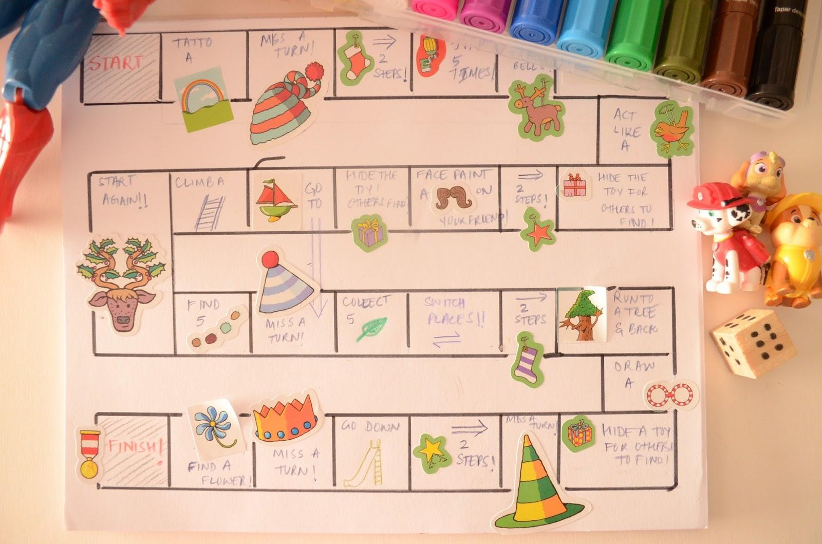 Practical Mom: 'Let's go Outside!' Board Game Printable!
