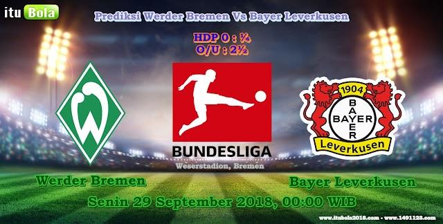 Prediksi Werder Bremen Vs Bayer Leverkusen - ituBola