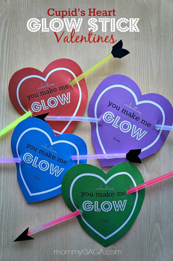 graphic about You Make My Heart Glow Printable identify Non-Sweet Clroom Valentine Tips for Little ones - Nanny in direction of Mommy