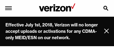 Deadline Extended - Verizon MVNOs Can Activate 3G and Non