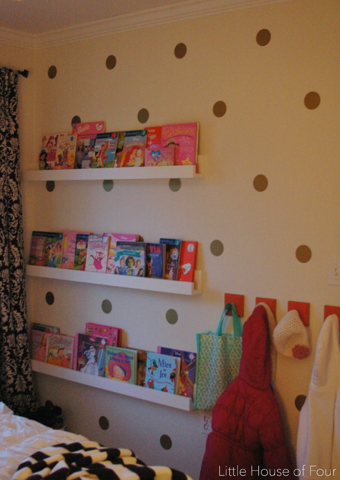Organized Craft Closet Using IKEAS Algot System
