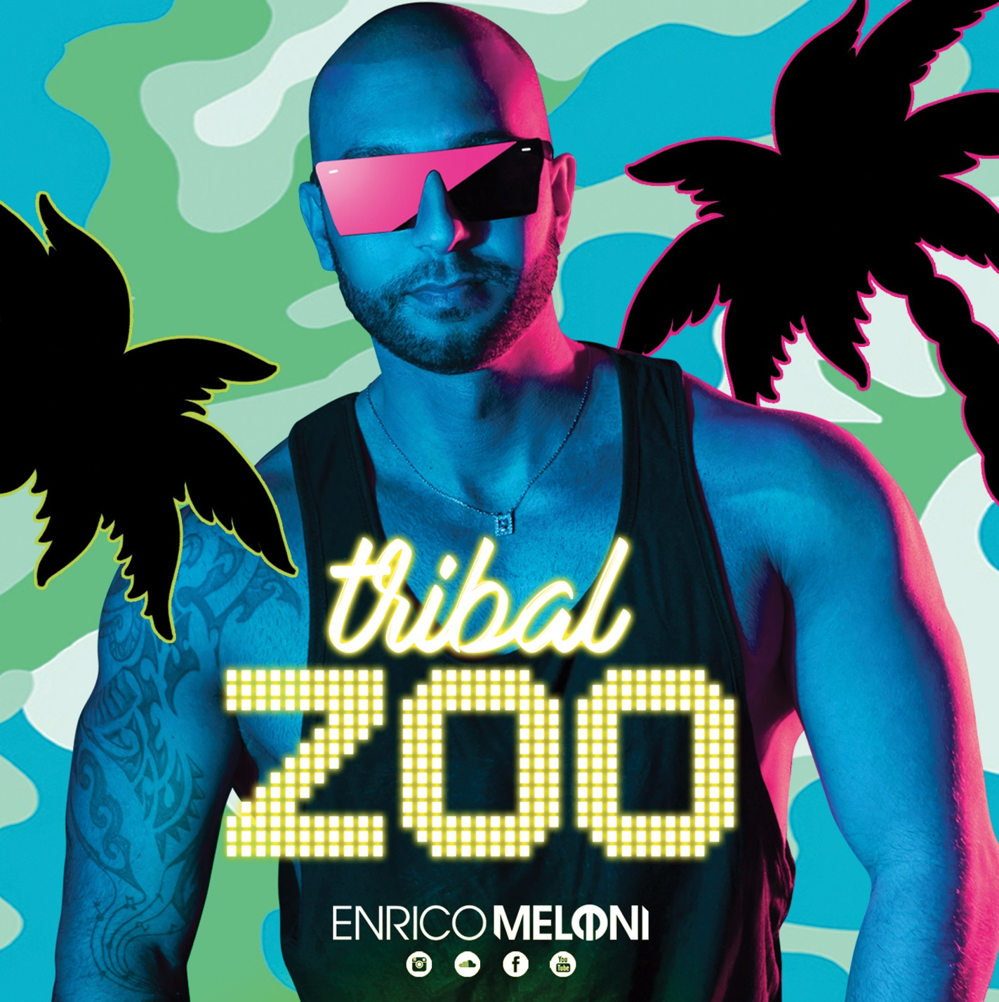 ENRICO MELONI - TRIBAL ZOO (Podcast N°32 2K18) (Progressive & Tribal House)