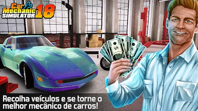 Car Mechanic Simulator MOD APK + DATA
