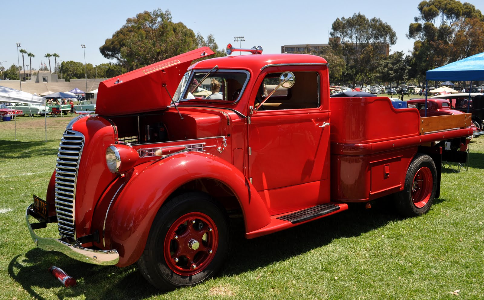 Just A Car Guy Bob S Restored Diamond T Pickup Truck