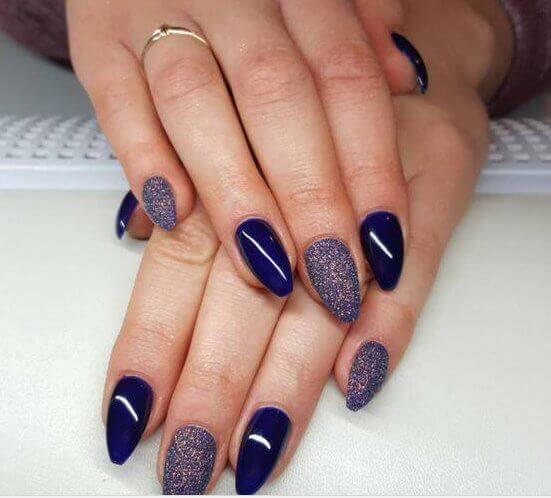 acrylic, Purple gel ,western nail art ,designs