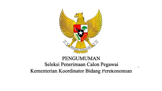 Lowongan Kerja Non PNS, Lowongan Kementerian Koordinator Bidang Perekonomian, Lowongan November 2016