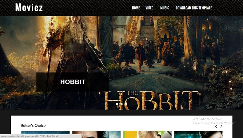 Download - Moviez - Responsive Blogger Template For Movie Blog