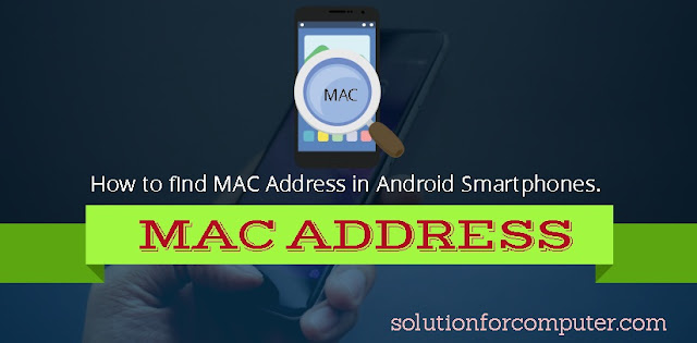 how to change a mac address on android