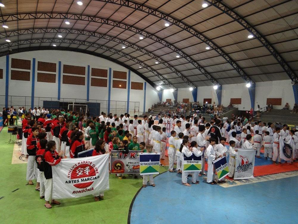 2354c338f Seleção Jiparanaense participa da 1ª Copa Cavalcante de Karatê Esportivo