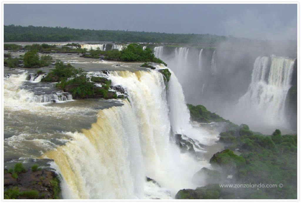 cascate di iguaçu magnifiche gigantesche brasile acqua
