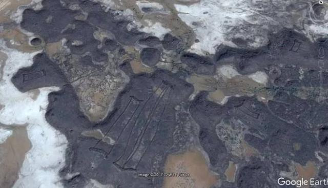 Selama ini belum pernah ada bahasan dari arkeolog soal gerbang tersebut. Penemuan bangunan itu pun berasal dari citra satelit