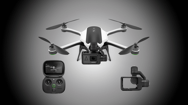 GoPro's , Karma , drone , Display , clear , and , loud , Karma , market , high-resolution , premium design ,power , rigorous adventures , amazing heights , footage ,