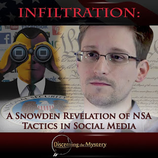 Infiltration Edward Snowden Revelation NSA Tactics Social Media