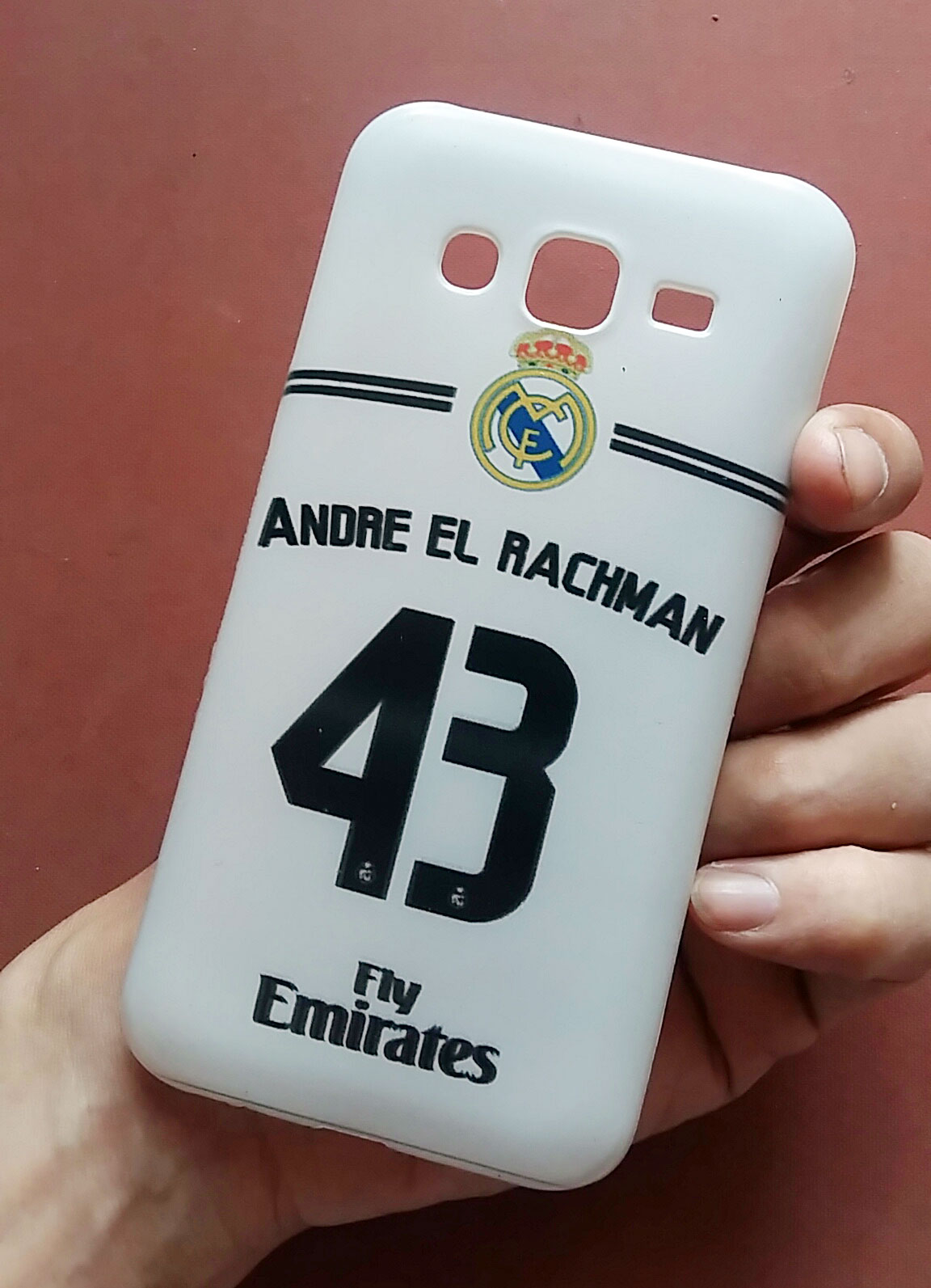 casing custom real madrid