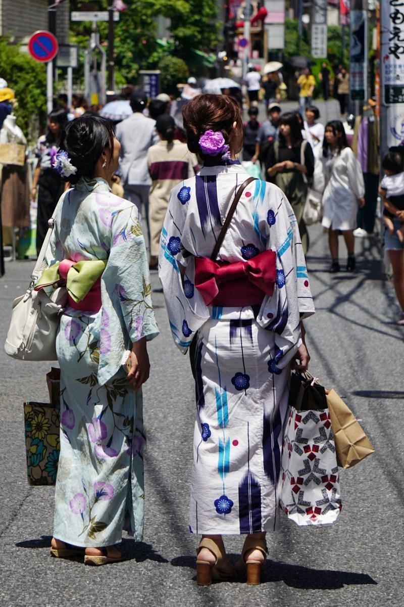 Shimokitazawa, kimono, Tokio