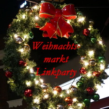 Weihnachtsmarkt, Linkparty, 2017, Kranz, Lichter, Dekoration