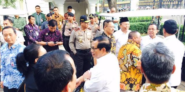 Tak Ditemui Jokowi, Perwakilan Demo Ahok Tolak Diskusi Sama Wiranto